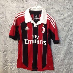 Men's ADIDAS  AC Milan Soccer Jersey sz S